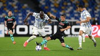 Napoli Vs Inter Imbang, 11 Kemenangan Beruntun Nerazzurri Terhenti