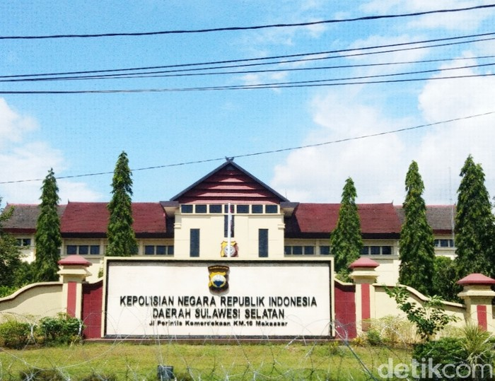 Mapolda Sulsel (Hermawan/detikcom).
