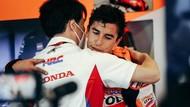 Repsol Honda Setia Menunggu Marc Marquez Naik Podium Lagi
