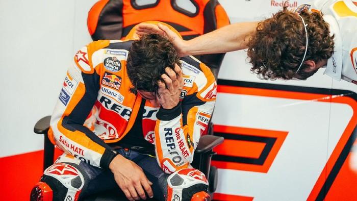 Marc Marquez usai menuntaskan MotoGP Portugal, comeback-nya usai nyaris setahun absen karena cedera