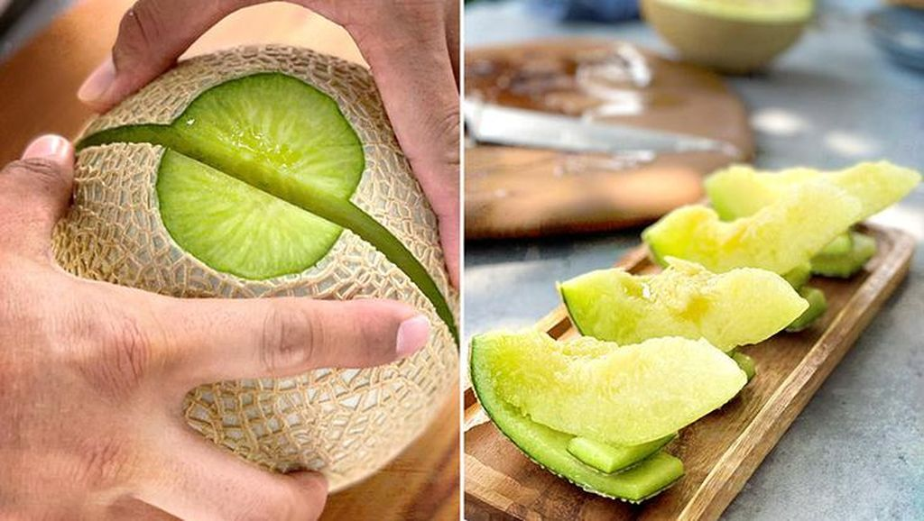 Melon Jepang Ini Ditanam dengan Iringan Musik dan Dipijat