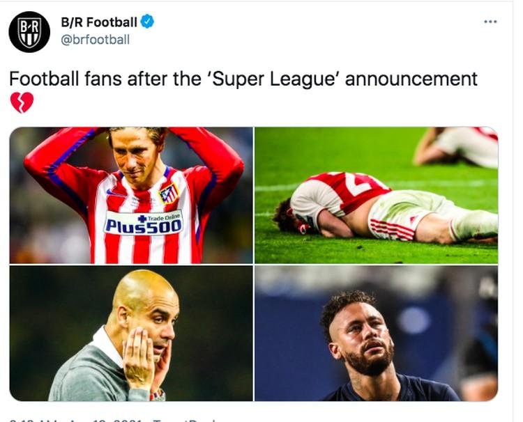 Meme European Super League