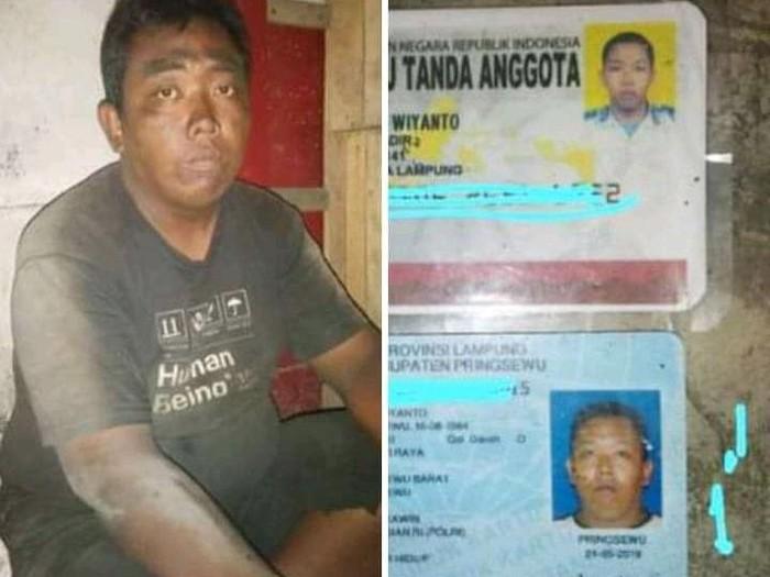 Seorang anggota polisi Brigadir Agus Wiyanto sempat terlantar 10 hari di Merak, Banten. Anggota Polda Lampung kini dalam perawatan di RSJ Lampung. (dok Istimewa)
