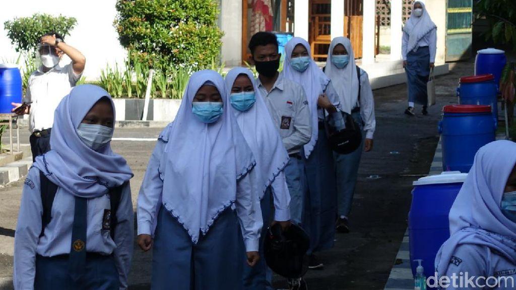 Yogyakarta Mulai Uji Coba Sekolah Tatap Muka SMA-SMK Hari Ini