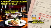 Tak Tanya Harga, Bon Makan Pengunjung Restoran Ini Capai Rp 518 Juta!