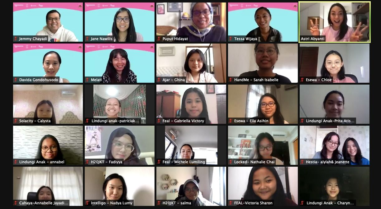 Grup yang Wakili RI di Technovation Girls Challenge