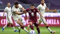 Torino Vs Roma: Serigala Ibu Kota Kalah 1-3