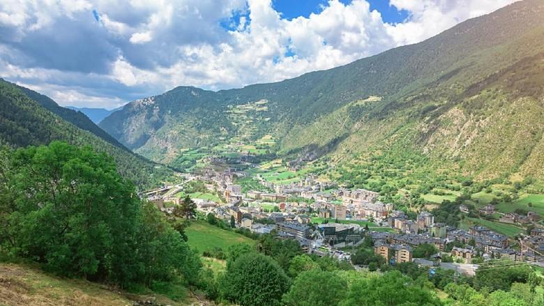 Negara Andorra di Eropa