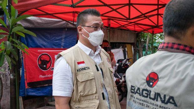 Anggota Komisi D DPRD DKI Jakarta Fraksi PDIP Hardiyanto Kenneth.