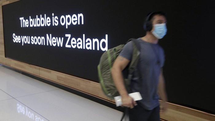 Kegembiraan campur haru travel bubble Selandia Baru-Australia