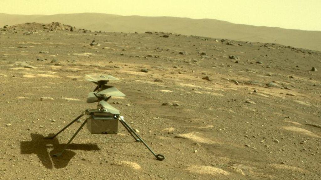 NASA Perpanjang Misi Helikopter Ingenuity di Mars