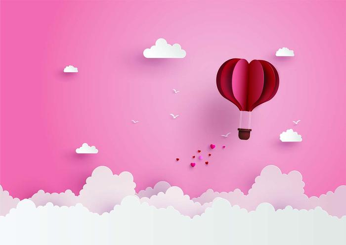 Ilustrasi cinta dan kasmaran