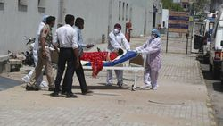 Puluhan Pasien Corona di India Meninggal Karena Kehabisan Oksigen