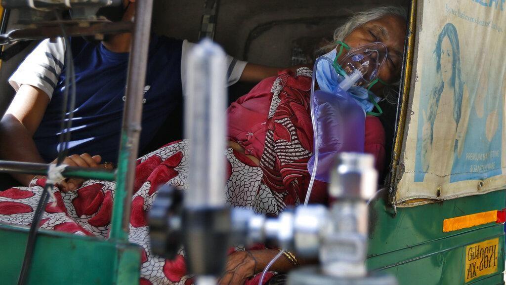 Kehabisan Oksigen, Puluhan Pasien COVID-19 di India Meninggal Dunia