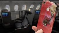 Ngeri! iPhone Terbakar Gegara Terselip di Kursi Penumpang Pesawat
