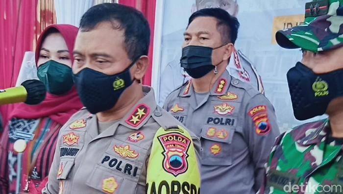 Kapolda Jateng Irjen Pol Ahmad Luthfi di Klaten, Selasa (20/4/2021).