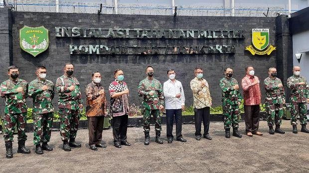 KSAD Jenderal TNI Andika Perkasa resmikan tahanan militer berbasis AI di Pomdam Jaya
