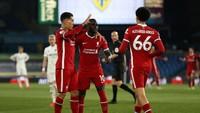 Turun Minum, Leeds Vs Liverpool Sementara 0-1