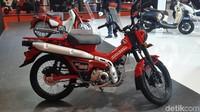 2 Motor Bebek Termahal di Indonesia Nangkring di IIMS 2021
