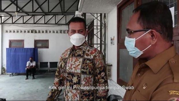Musa Rajeckshah alias Ijeck Sidak ke Dinkes Sumut