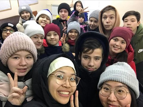 Puasa mahasiswa puasa di Rusia