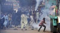 2 Polisi Pakistan Tewas dalam Bentrokan Partai di Lahore