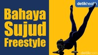 Viral Tren Berbahaya Sujud Freestyle, Anak Yoga Menyebutnya Mayurasana