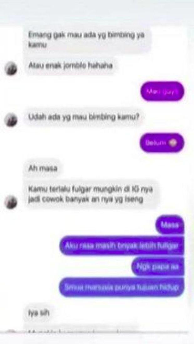 Tisya Erni ungkap isi direct messsage Sule
