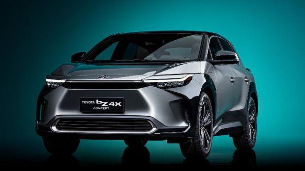Toyota bZ4X, Mobil Listrik Pertama Toyota