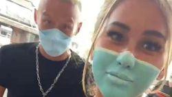 Viral Bule di Bali Lukis Masker di Muka untuk Kecoh Satpam