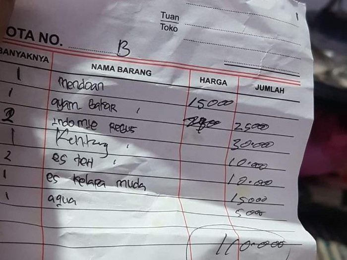 Viral Kisah Warung Getok Harga di Bukit Bintang, Ini Kata Satpol PP
