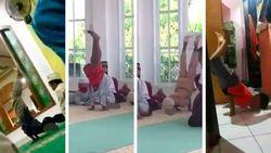 Saran Psikolog Agar Bocil Tak Keracunan Tren Sujud Freestyle yang Viral