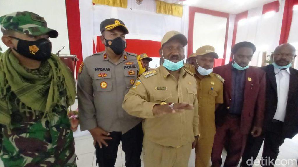 Tantangan Perang Terbuka untuk KKB dari Bupati Puncak Papua