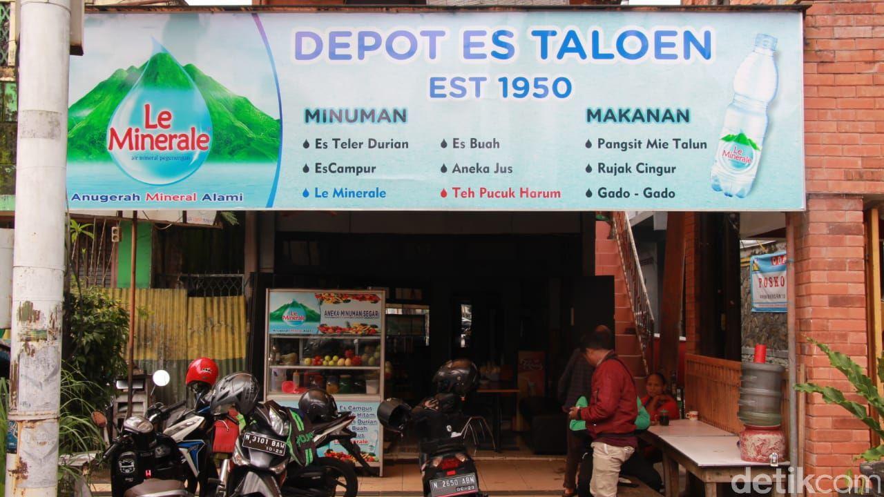 Es Taloen Legendaris Sejak 1950 di Malang