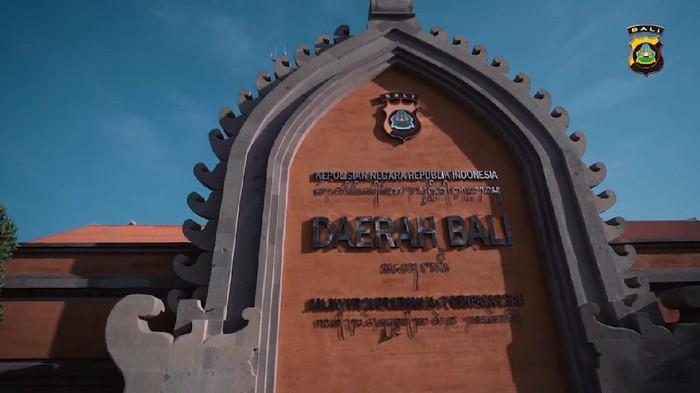 Gedung Polda Bali (YouTube Bid Humas Polda Bali)