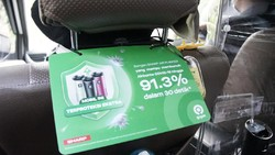 8.000 GoCar Dilengkapi Air Purifier Sharp, Penumpang Makin Aman