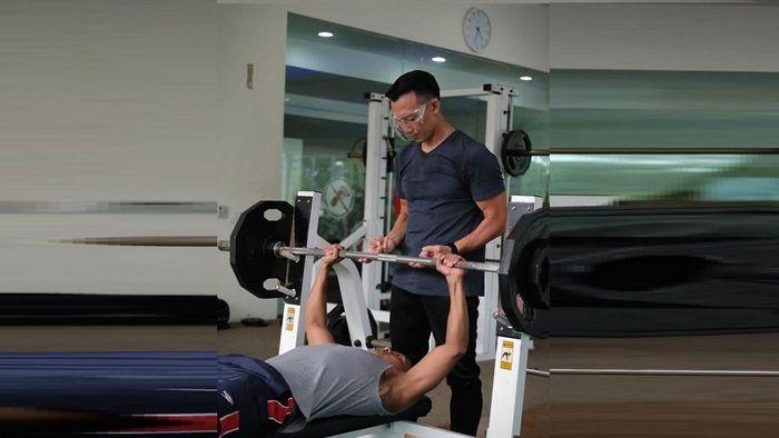 I Gede Siman Sudartawa-Albert Sutanto menjalani program latihan Kualifikasi Olimpiade 2020