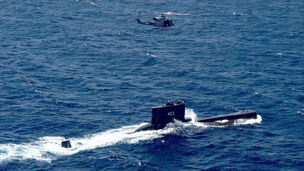 5 KRI dan 1 Helikopter Diterjunkan Cari KRI Nanggala-402