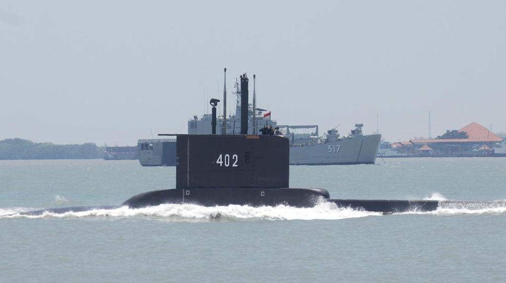 Kapal Selam RI Nanggala-402 Hilang di Laut Utara Bali