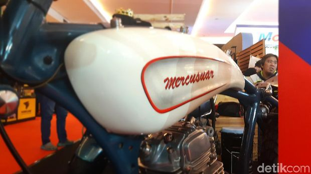 Motor Custom Mercusuar ikut unjuk gigi di IIMS 2021