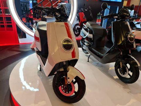 Motor listrik Niu di IIMS 2021.