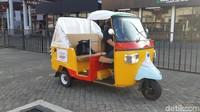 Barang Langka Nih, Piaggio Bawa Motor Tiga Roda Mirip Bajaj ke IIMS 2021