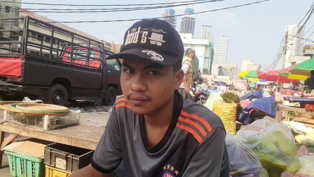 Pedagang Pasar Kambing, Dani Ramdani .