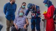Vaksinasi Kota Bogor, Kakek 104 Tahun Disuntik Captain America