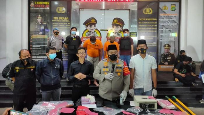Polres Tangerang Selatan menangkap pelaku pencurian di rumah kosong