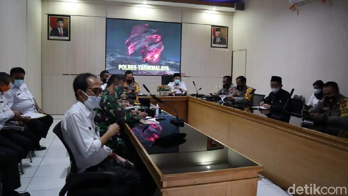 Polres Tasikmalaya menyiapkan lima titik penyekatan pemudik