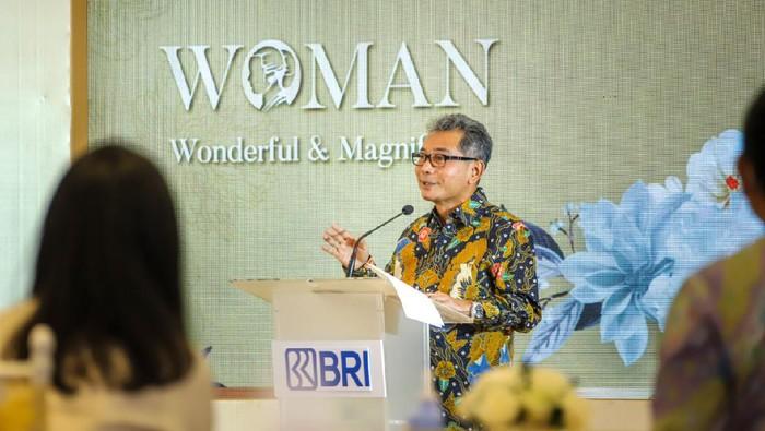 PT Bank Rakyat Indonesia (BRI) menggelar acara bertajuk Woman (Wonderful & Magnificent) dalam memperingati Hari Kartini.