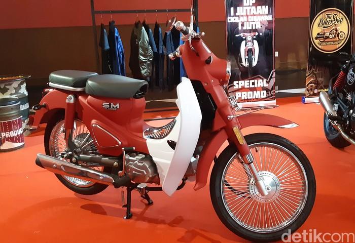SM Classic, Motor Bebek Mirip Super Cub Seharga Rp 20 Jutaan