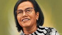 Rapat Hingga Dini Hari Saat Lebaran, Sri Mulyani: Kami Nggak Sempat Libur
