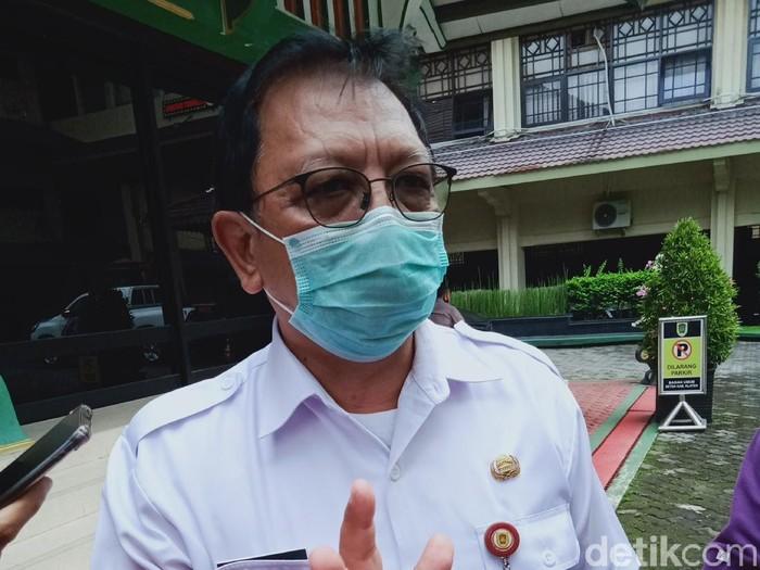 Tim Ahli Satgas Percepatan Pengendalian COVID-19 Kabupaten Klaten dokter Roni Roekmito, Rabu (21/4/2021).